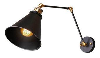 Metal Black Industrial Swing Arm Wall Sconce Wall Lamp Light Fixture