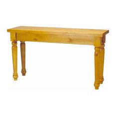 Sofa Tables Narrow Heirloom Pine Wentworth 28-inchH X 52-inchW