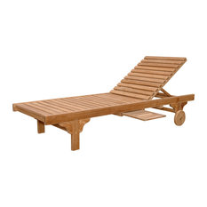 Capri Sun Lounger With Adjustable Back and Side Tray