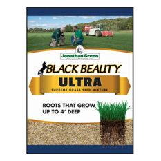 Jonathan Green 10322 Black Beauty Ultra Grass Seed Mixture, Up To 2800 Sqft, 7Lb