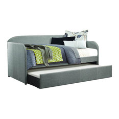 Homelegance Roland Daybed With Trundle in Gray