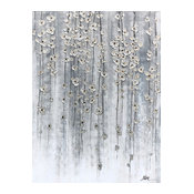 """""""Silver Spring"""" Hand Painted Oil Canvas Art"""