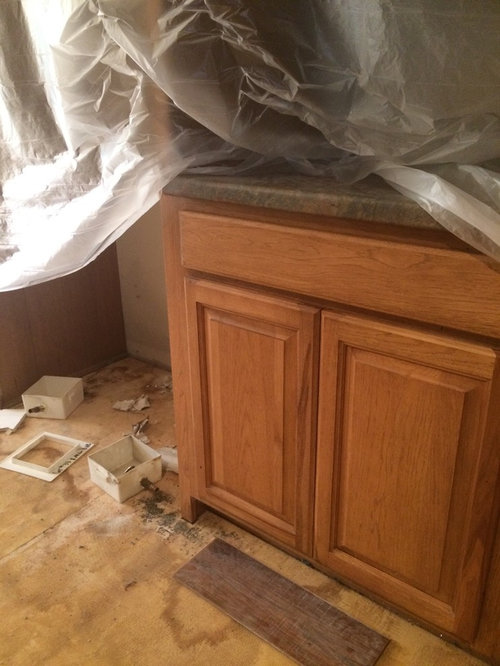 Updating Kitchen Honey Oak Cathedral Style Kitchen Cabinets