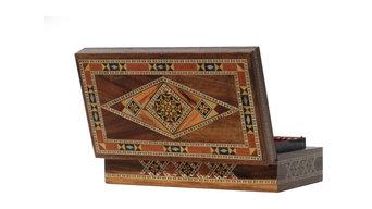 Boîte à bijoux Chesmet en marqueterie orientale