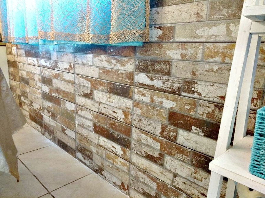 awesome rusting brick TILES