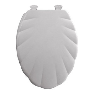 Mayfair 149cpec 000 Wood Elongated Toilet Seat