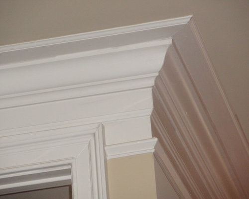 Two piece crown molding houzz Crown molding india