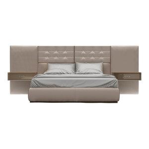 Klass 107 Bed, Queen With Nighstand