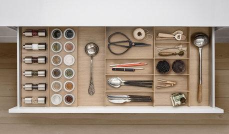 Optimisez les rangement grâce à des tiroirs de cuisine malins