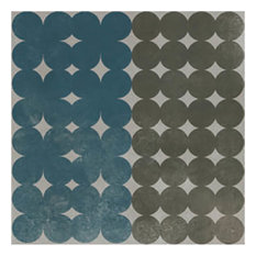 Azulej Trevo, Grey, Box of 24 Tiles