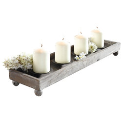 Farmhouse Candleholders by Home Garden Collections