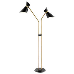 Midcentury Floor Lamps by Lite Source Inc.