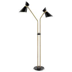 Midcentury Floor Lamps by Buildcom