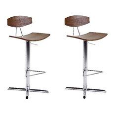 chaises et tabourets de bar contemporains. Black Bedroom Furniture Sets. Home Design Ideas