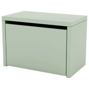 Bedside Table And Storage Bench, Green