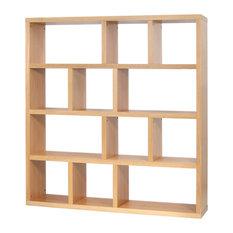 Temahome - Berlin 4-Level Shelving Unit, Oak - Bookcases