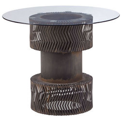Lovely Industrial Dining Tables by Arcadian Home u Lighting