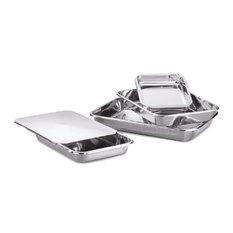 hammer stahl stainless steel bakeware 5piece set bakeware sets - Bakeware Sets