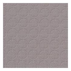Designer Roman Shades Plain Fold, 35Wx46H, Sterling