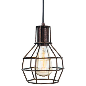 Clipper Industrial Caged Pendant