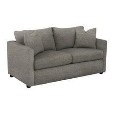 Klaussner Furniture Jaylen Full-Size Sleeper Sofa, Smoke