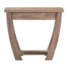 Furniture of America Junie Contemporary Console Table in Hazelnut