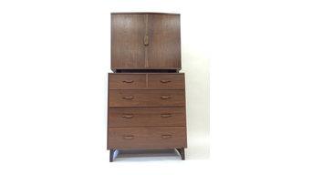 Walnut Tall Dresser