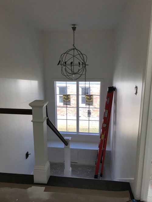 Height For Hanging Chandelier In Stairwell
