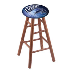 Oak Counter Stool Medium Finish With North Florida Seat 24-inch