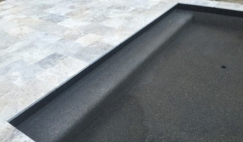 Pebble Tec, Silver Travertine Deck