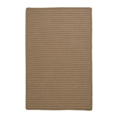 Colonial Mills, Inc - Simply Home Solid Rug, Cafe Tostado, 10'x13' - Outdoor Rugs