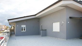 Casa antisismica con struttura in acciaio NUOVA A