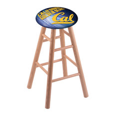 Oak Bar Stool Natural Finish With Cal Seat By The Holland Bar Stool Co. 30-inch