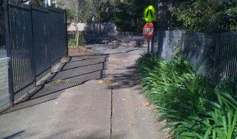 Crazed Concrete Driveway
