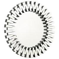 GDF Studio Detroit Circular Wall Mirror