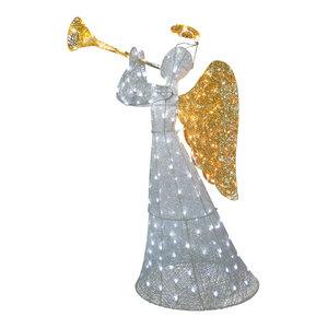 """60"""" Angel Decoration With LED Lights"""