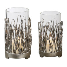 Corbis Candleholders, Set of 2