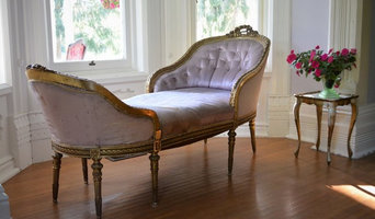 Rare 19th Century French Louis XVI Gilt Chaise Lounge