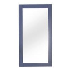 """Legion Furniture Colby Bathroom Mirror, Blue, 16"""""""