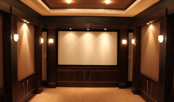 Harbert Home Systems showroom Home Theater