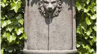 Romana Lion Wall Fountain