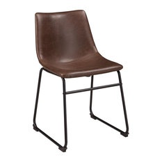 Centiar Upholstered Side Chair in Brown (Set of 2) D372-01 by Ashley Furniture Homestore