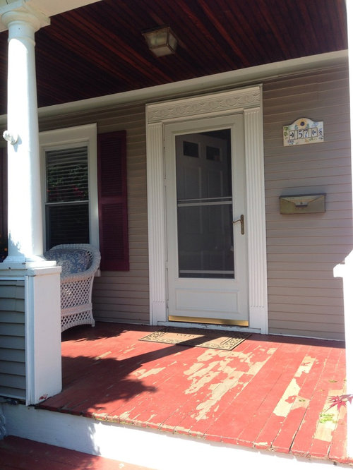 Looking For Something That Will Make My Porch Pop But Blend In Nicely With Siding I Have Maroon Shutters Now Be Painting Them A Navy Blue
