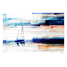 """Aegean Sea"" Canvas Print by Parvez Taj, 155x100 cm"