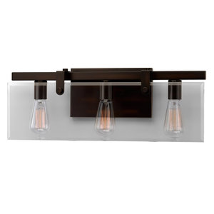 Luxury Farmhouse Bath Vanity Light, Bristol Series, Olde Bronze