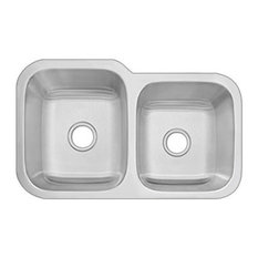 DiMonte 60/40 Double Bowl Sink G-322R, G-322R 60/40 Double Bowl Sink