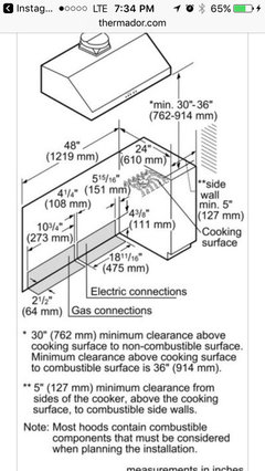 Height Above Gas Range Should The Vent Hood Be