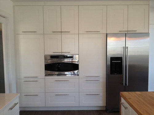 How To Stack Ikea Sektion Cabinets As, Tall Kitchen Cabinets Ikea
