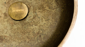 Moat Basin in solid bronze