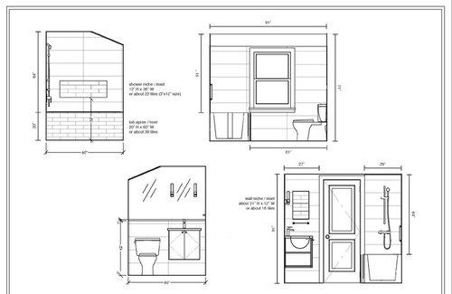 Bathroom Wall Tile Height Help